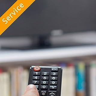 Indoor HDTV Antenna Setup