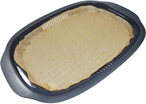 Betty's - Papel de cocción al vapor para Monsieur Cuisine Plus, papel de cocción marrón, hecho a mano en Alemania, marrón, 30