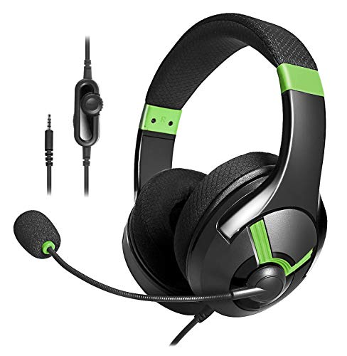 Amazon Basics Gaming Headset - Green