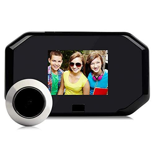 TQ Wireless-Video-Türklingel 3,0-Zoll-Smart-Home-Türklingel-Kamera, Home Security Monitoring/PIR-Bewegungserkennung/Keine Verdrahtung erforderlich