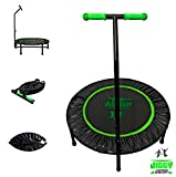 Jiggy Jump FOLDABLE Fitness Trampoline & Home Work Out (DVD or online video)