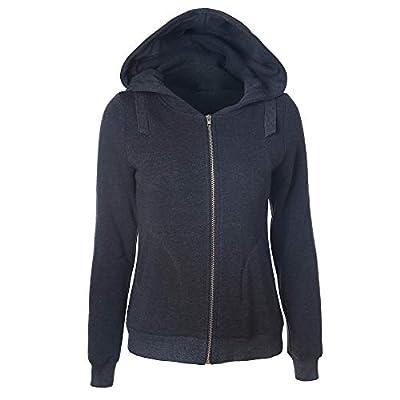 Sufeng Womens Musical Notes Long Sleeve Hoodie Sweatshirt Hooded Pullover Tops Blouse