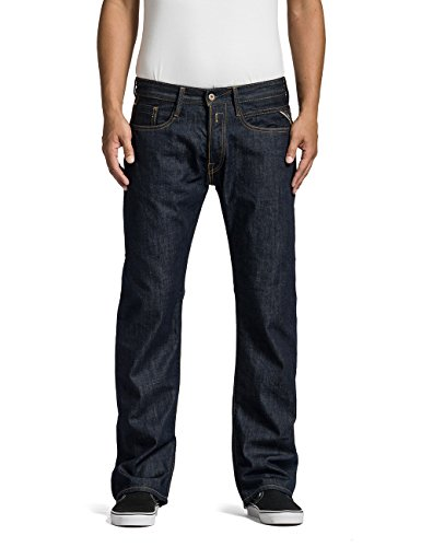 Replay Herren Billstrong Jeans, Blau (Blue Denim 7), W30 / L34