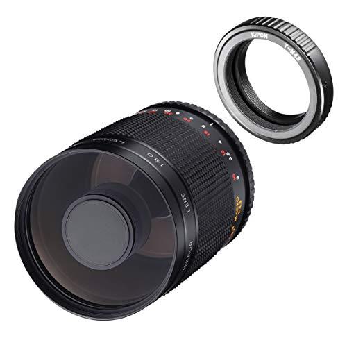Samyang MF 500mm F8.0 Spiegelobjektiv M42 Mount – DSLR, CSC Teleobjektiv, manueller Fokus, Filterdurchmesser 72mm, für Vollformat und APS-C