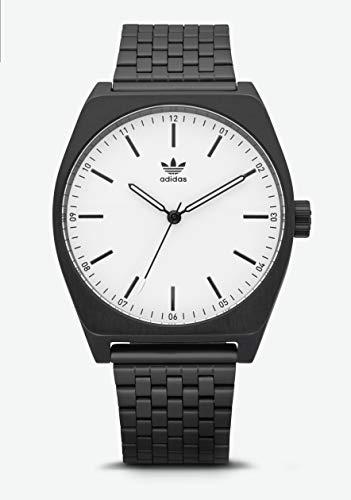 Adidas Herren Analog Quarz Smart Watch Armbanduhr mit Edelstahl Armband Z02-005-00