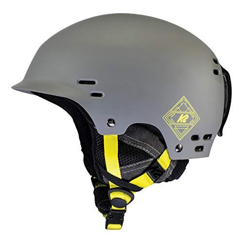 K2 Ski Unisex– Erwachsene Thrive Skihelm, mid Grey, S (51-55cm)