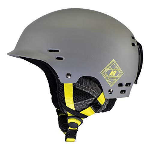 K2 Ski Thrive, Casco da Sci. Unisex-Adulti, Grigio Medio (Mid Grey), S (51-55 cm)