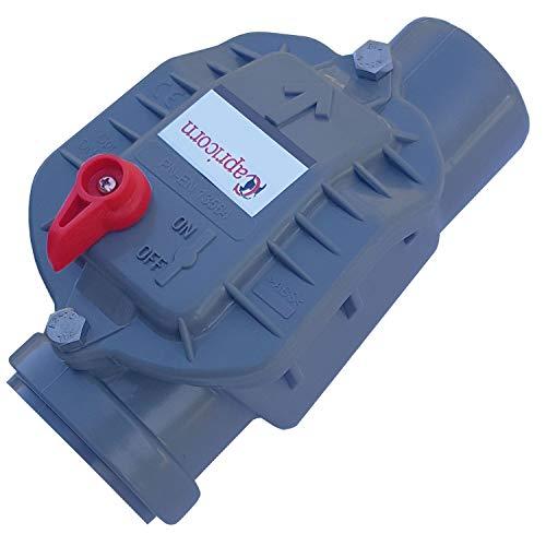 Rückstauverschluss/Rückstauklappe DN50 mm-mit Edelstahlklappe