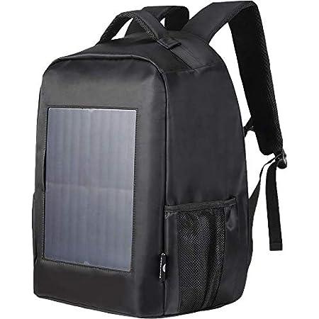 ソーラー充電リュックサック 「 大容量 軽量 防水 USB充電器 」 バックパック リュックサック ソーラー 充電 リュック ソーラーパネル 太陽光 太陽光パネル 防災 旅行 登山