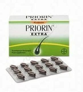 Priorin Extra-60 Capsules - English Label