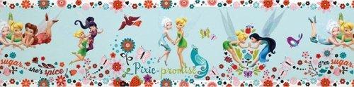 Graham & Brown Selbstklebend-Borte'tinkerbell border pixie promise' Kollektion Kids@Home IV, mehrfarbig, 90-040