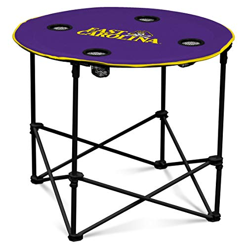 Logo Brands NCAA East Carolina Pirates Round Table, One Size, Team Color