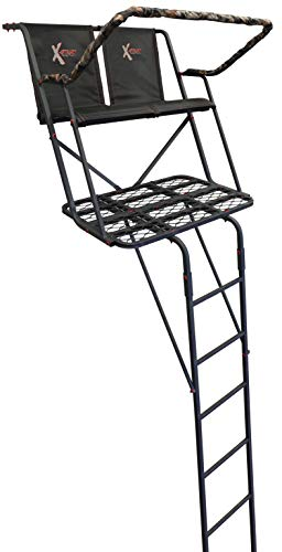 The Meridian 17' New! X-Stand Treestands Two-Man Ladder Hunting Tree Stand