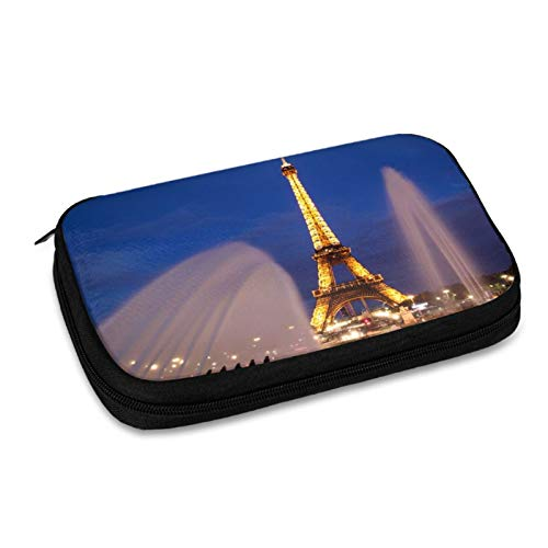 Evening Paris Electronic Organizer Small Travel Cable Organizer Bag for Hard Drives,Cables,Charger,Phone,USB,Sd Card