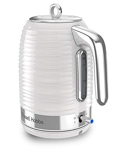 Russell Hobbs Coventry 1.7L Electric Kettle, White
