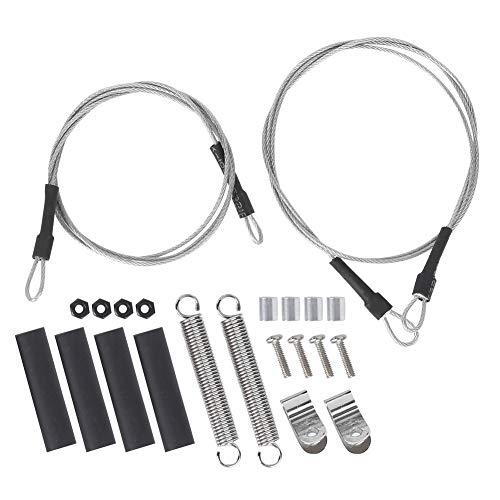 VGEBY RC Stahlseil Set, Kabel Stahl Abschleppseil für Traxxas Trx4 Axial Scx10 D90 D110 1/10 RC Crawler Car