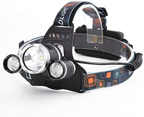 Linterna Frontal,3000lm Xm-t6 Linterna Frontal con Zoom Zoom Linterna Antorcha Acampar Pesca Linterna Frontal Uso de la Linterna