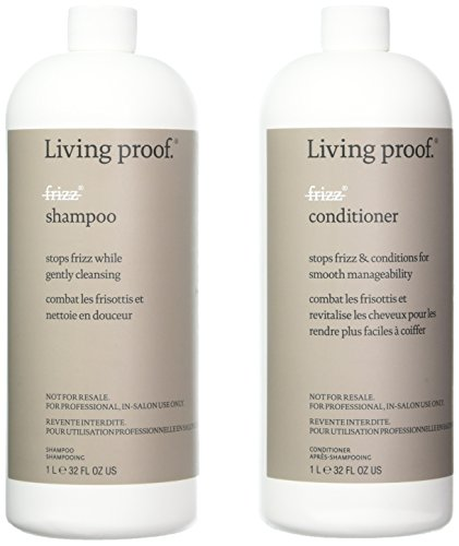 Living Proof No Frizz Shampoo & Conditioner 32 oz by Living Proof