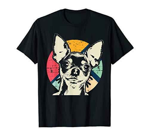Chihuahua Retro Style T-Shirt Design