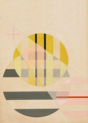 World of Art Global László Moholy-Nagy 'Z11' 1925. 250 g/m², glänzend, Kunstdruck, A3, Reproduktion