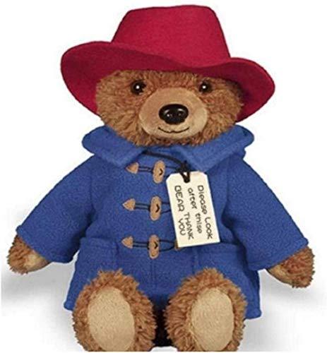 N-L Film Production Real Paddington Bear 2 Plush Doll Teddy Bear Doll Perlington Bear Doll