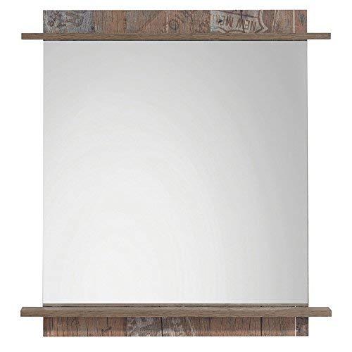 Schildmeyer Sydney 125977 Spiegel, 75 x 80 x 11 cm, panamaeiche dekor