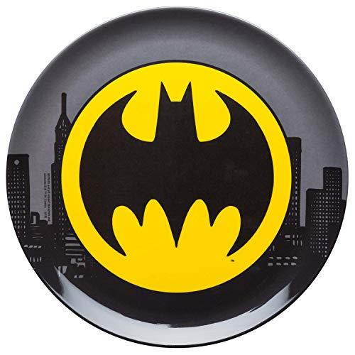 Zak Designs DC Comics Melamine Plates, Batman Core