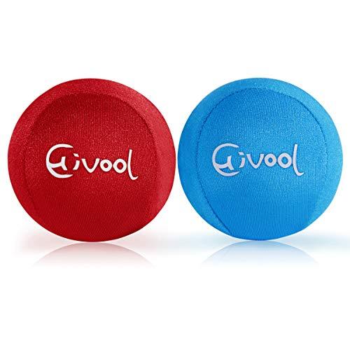 Hivool Boules Anti-Stress pour Les Mains, Balle d'exercice pour Gel Thérapeutique avec Différentes Forces, Idéales pour Les Exercices, Thérapie des Mains et Le Soulagement du Stress et de L'anxiété