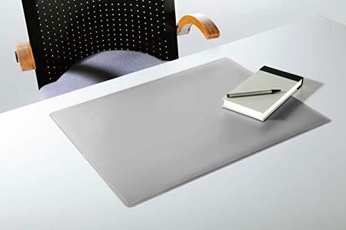 Durable 710210 Schreibunterlage (mit Dekorrille, 530 x 400 mm) grau