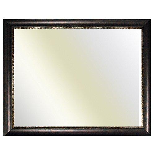 Baroque brun cadre décoré finement 246 NOCE, miroir, 50x70 cm