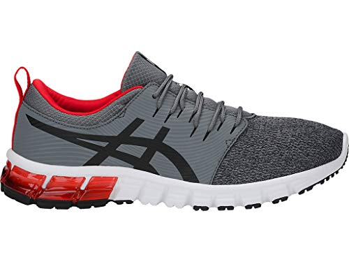 ASICS Men's Gel-Quantum 90 SG Running Shoes, 11.5, Steel Grey/Black