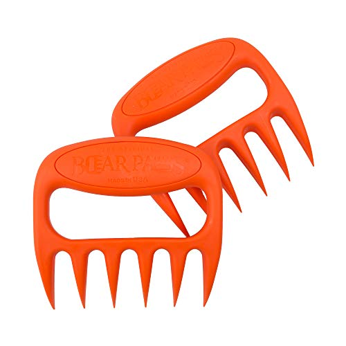 Bear Paws The Original Shredder Claws - Easily Lift, Handle, Shred, and Cut Meats - Essential for BBQ Pros - Ultra-Sharp