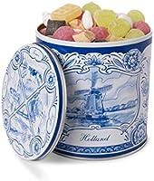 Guilty Candy Store - Heerlijke Oud Hollandse Snoep in een Delfts Blauw Blik - De lekkerste Snoepmix