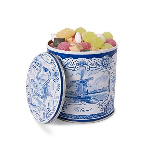 Guilty Candy Store – Heerlijke Oud Hollandse Snoep in een Delfts Blauw Blik – De lekkerste Snoepmix