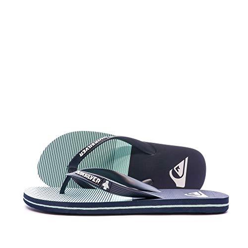 Quiksilver Molokai Tijuana, Zapatos de Playa y Piscina Hombre, Azul (Blue/Blue/Green Xbbg), 40 EU