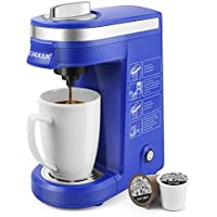 Chulux Single Cup Pod Coffee Brewer with Quick Brew Technology