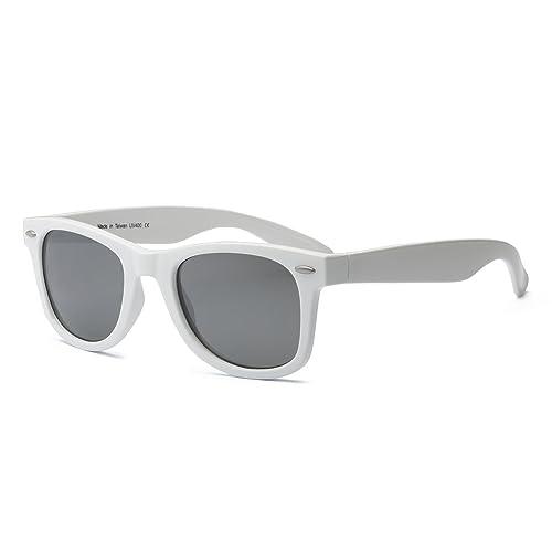 2abf2e2f7620 Real Shades - Swag Sunglasses (White Silver Mirror Lens)