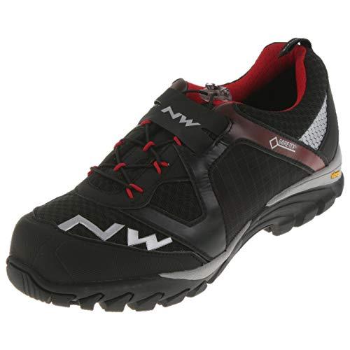 Mountainbike Schuh Explorer GTX schwarz/rot unisex 38