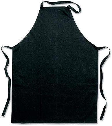 Kitchen apron black cotton material