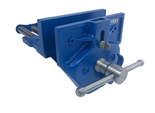 "Yost M9WW Rapid Acting Wood Working Vise, 9"", Blue"