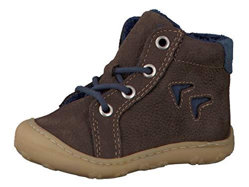 RICOSTA Pepino Unisex - Kinder Winterstiefel Georgie, WMS: Mittel, Freizeit Winter-Boots Outdoor-Kinderschuhe warm gefüttert,Marone,20 EU / 4 UK