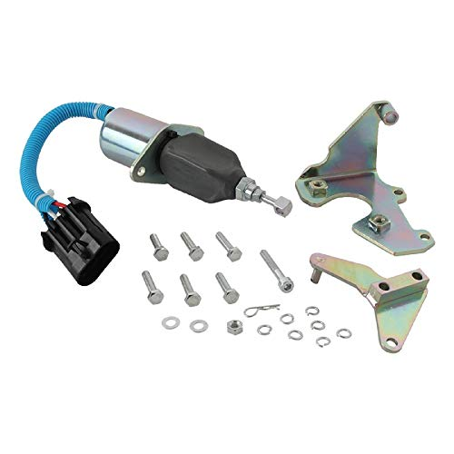 New DB Electrical FSS0040 Shut Down Solenoid Compatible with/Replacement for12V Cummins 5016244AA 3800723 3931570 SA-4981-12