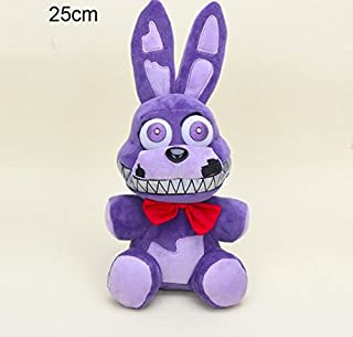 ML Warehouse 15cm / 25cm Five Nights at Freddy's & Nightmare Edition Plush (25cm, Nightmare Bonnie)