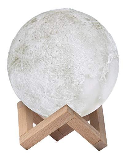 AMIGO ISLAND 3D Mond Lampe - Deine perfekte Nachtlampe 3 Farbe