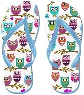 Flip Flops for Kids Adult Beach Sandals Pool Shoes Party Slippers Black Pink Blue Belt for Chosen