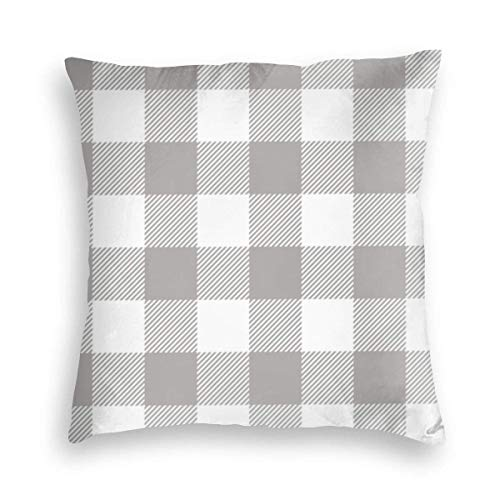 Rblack Fall Plaid Grey On Charcola 05 Shop Vorschau 45x45 cm Square Throw Kissenbezug Kissenbezüge Kissenbezug