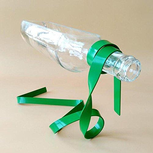 Indoor tabel mooi gedecoreerde versiering float fles fruitbord glas DIY ijzer kunst creatieve bloempot groen, transparant