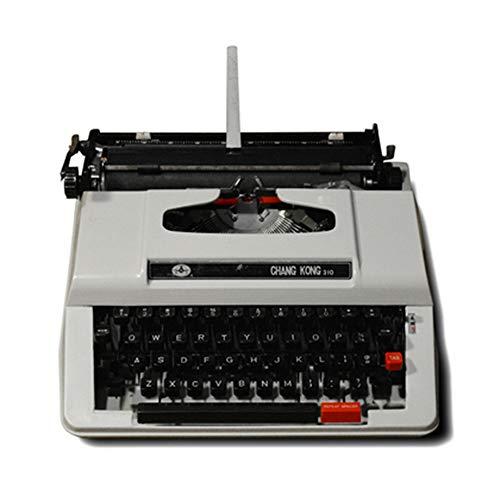 Vintage Schreibmaschine, Retro Mechanische Schreibmaschine mit Ersatzbandsätzen Geburtstagsgeschenk