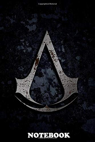 Notebook: Assassin Creed Unity Selver , Journal for Writing, College Ruled Size 6' x 9', 110 Pages