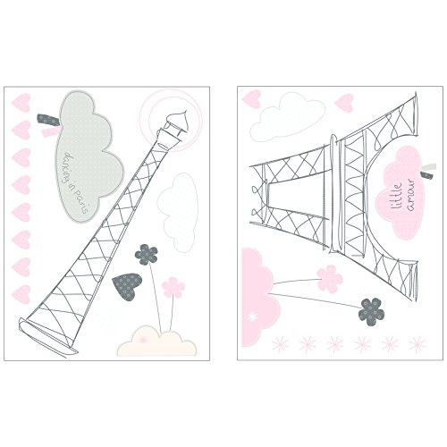 SAUTHON BABY DECO - Stickers xxl nuage lilibelle